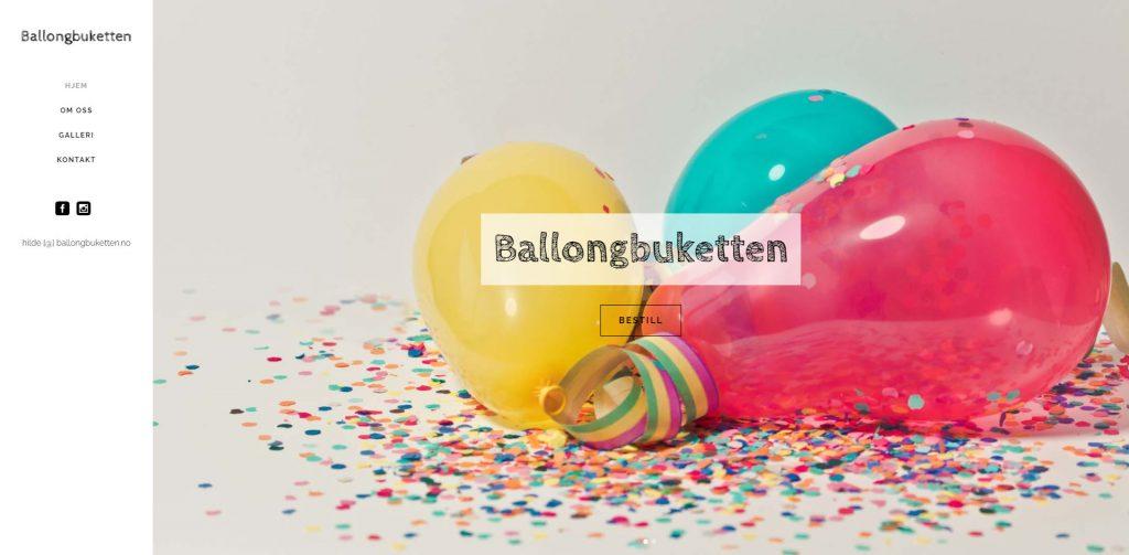 Ballongbuketten.no