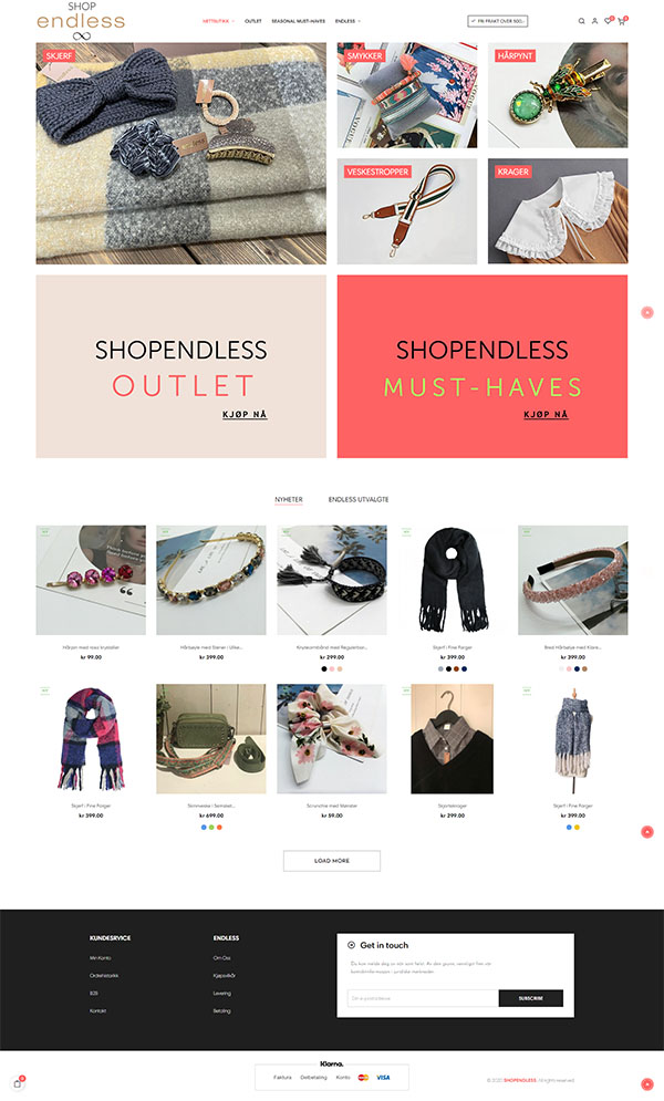 Shopendless.no